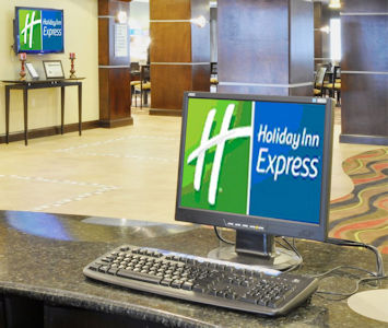 Business Center at Holiday Inn Express in Mt. Juliet